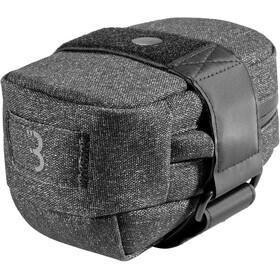 BBB Compacked Bolsa de Sillín L, negro/gris